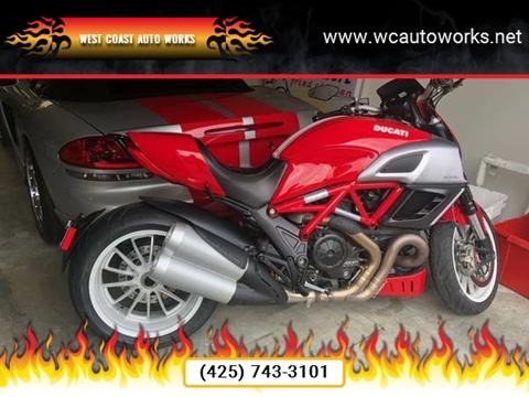 2013 Ducati Diavel for sale in Edmonds, WA