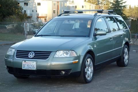 2003 Volkswagen Passat for sale at West Coast Auto Works in Edmonds WA