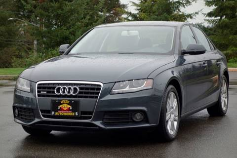 2011 Audi A4 for sale at West Coast Auto Works in Edmonds WA
