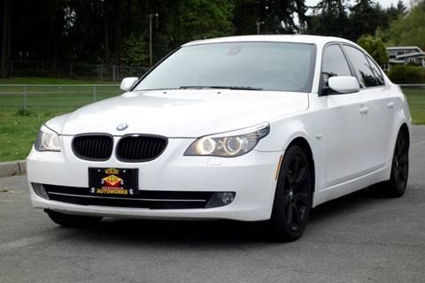 2008 BMW 5 Series for sale at West Coast Auto Works in Edmonds WA