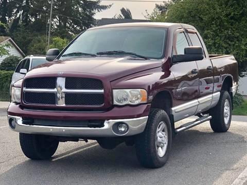 2003 Dodge Ram Pickup 2500 for sale at West Coast Auto Works in Edmonds WA