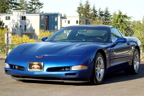 2002 Chevrolet Corvette for sale at West Coast Auto Works in Edmonds WA