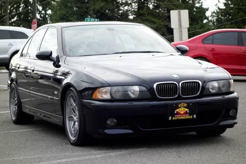 2000 BMW M5 for sale at West Coast Auto Works in Edmonds WA