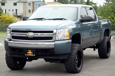 2008 Chevrolet Silverado 1500 for sale at West Coast Auto Works in Edmonds WA