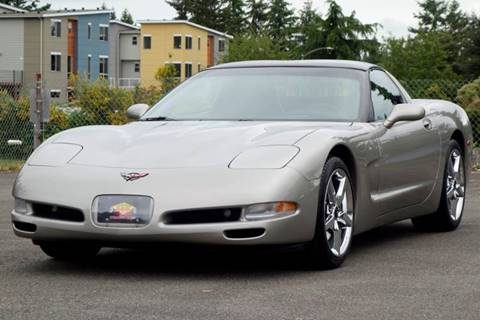 2001 Chevrolet Corvette for sale at West Coast Auto Works in Edmonds WA