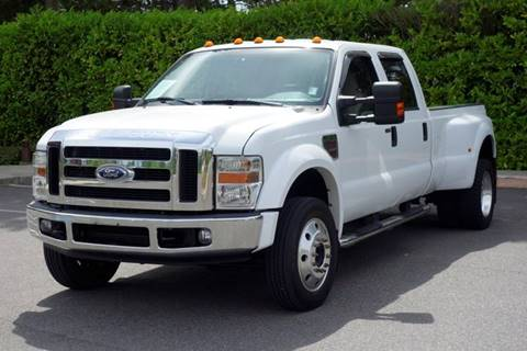 2008 Ford F-450 Super Duty for sale at West Coast Auto Works in Edmonds WA