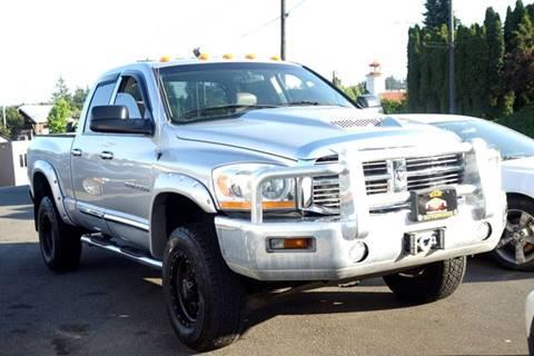 2006 Dodge Ram Pickup 2500 for sale at West Coast Auto Works in Edmonds WA