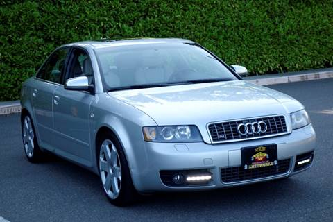 2005 Audi S4 for sale at West Coast Auto Works in Edmonds WA