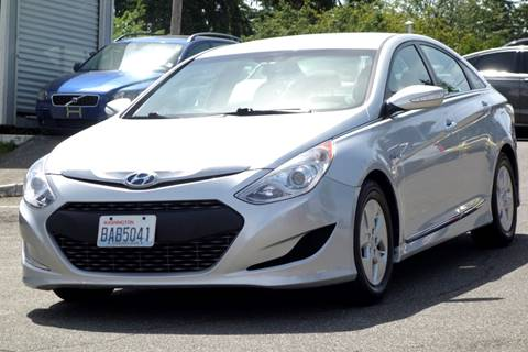 2012 Hyundai Sonata Hybrid for sale at West Coast Auto Works in Edmonds WA