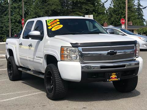 2009 Chevrolet Silverado 1500 for sale at West Coast Auto Works in Edmonds WA