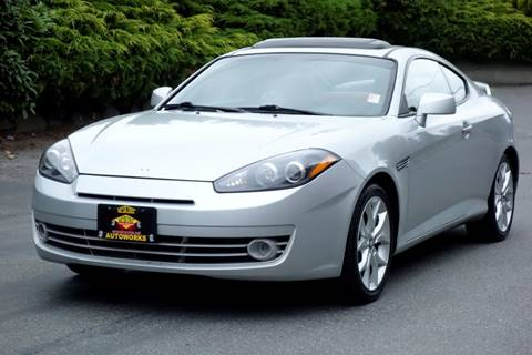 2008 Hyundai Tiburon for sale at West Coast Auto Works in Edmonds WA