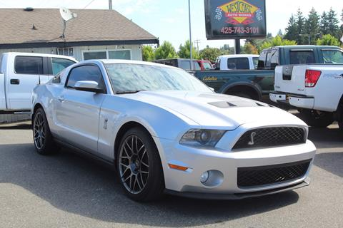 2012 Ford Shelby GT500 for sale in Edmonds, WA