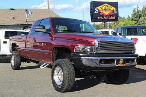 2001 Dodge Ram Pickup 2500 for sale at West Coast Auto Works in Edmonds WA