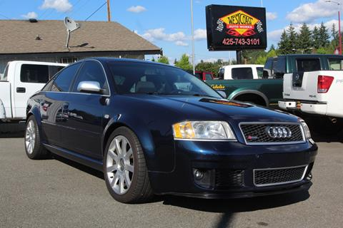 2003 Audi RS 6 for sale in Edmonds, WA