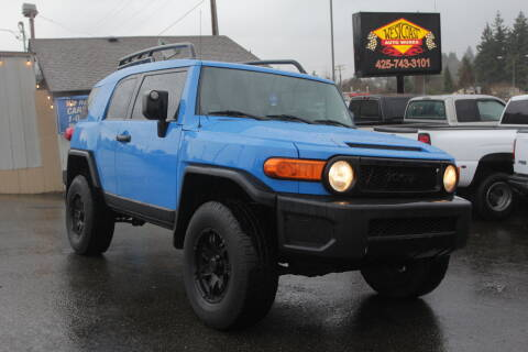 2007 Toyota FJ Cruiser for sale at West Coast Auto Works in Edmonds WA