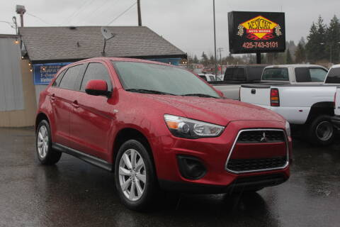 2015 Mitsubishi Outlander Sport for sale at West Coast Auto Works in Edmonds WA