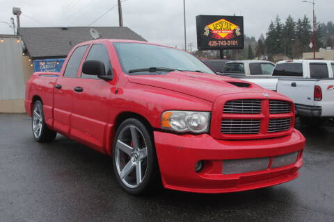2005 Dodge Ram Pickup 1500 SRT-10 for sale at West Coast Auto Works in Edmonds WA