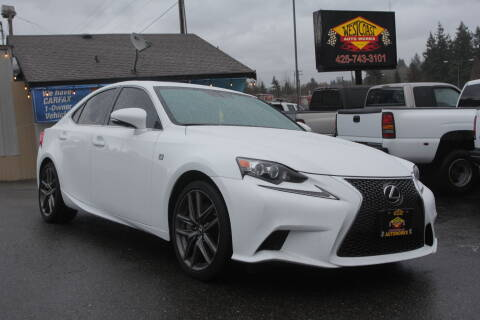 2015 Lexus IS 350 for sale at West Coast Auto Works in Edmonds WA