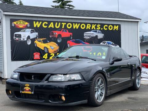2003 Ford Mustang SVT Cobra for sale at West Coast Auto Works in Edmonds WA