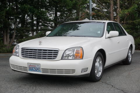 2001 Cadillac DeVille for sale at West Coast Auto Works in Edmonds WA