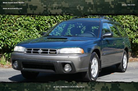 1997 Subaru Legacy for sale at West Coast Auto Works in Edmonds WA