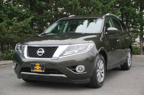 2016 Nissan Pathfinder for sale at West Coast Auto Works in Edmonds WA
