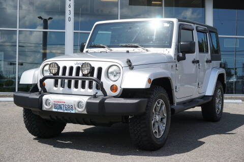 2011 Jeep Wrangler Unlimited for sale at West Coast Auto Works in Edmonds WA