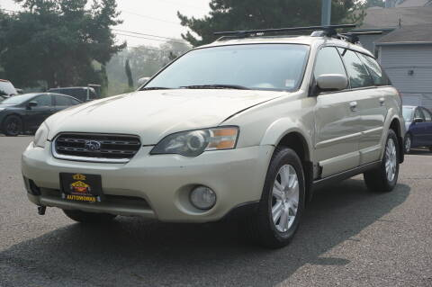 2005 Subaru Outback for sale at West Coast Auto Works in Edmonds WA