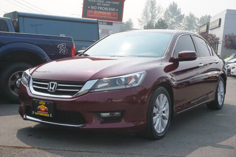 2014 Honda Accord for sale at West Coast Auto Works in Edmonds WA