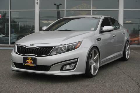2014 Kia Optima for sale at West Coast Auto Works in Edmonds WA
