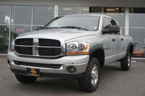 2006 Dodge Ram Pickup 3500 for sale at West Coast Auto Works in Edmonds WA
