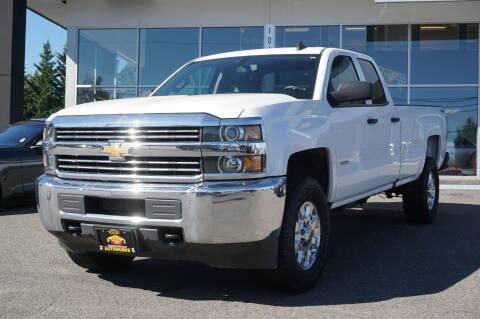 2017 Chevrolet Silverado 2500HD for sale at West Coast Auto Works in Edmonds WA