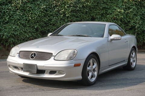 2001 Mercedes-Benz SLK for sale at West Coast Auto Works in Edmonds WA