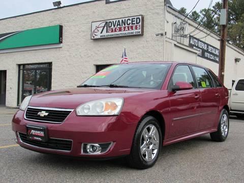2006 Chevrolet Malibu Maxx for sale in Tewksbury, MA