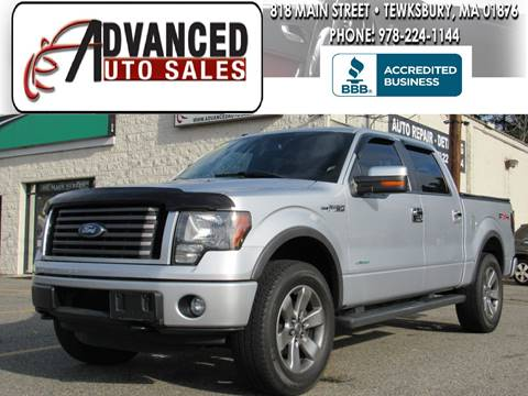 2011 Ford F-150 for sale in Tewksbury, MA