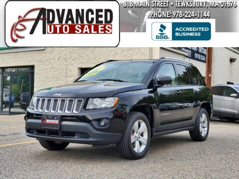 2014 Jeep Compass for sale at Advanced Auto Sales in Tewksbury MA