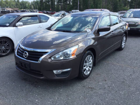 2013 Nissan Altima for sale at Advanced Auto Sales in Tewksbury MA