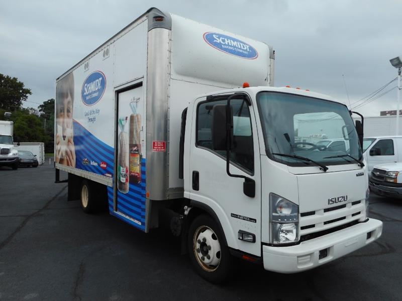 2012 Isuzu NPR HD 20 Box Truck