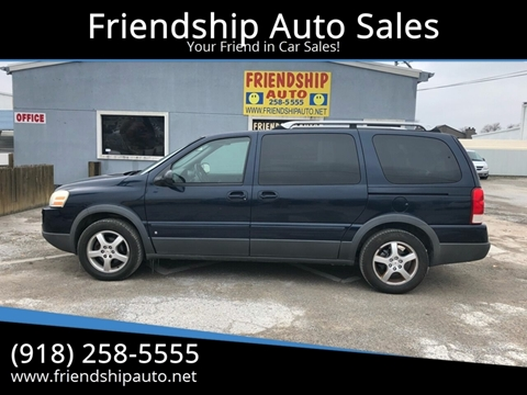 2006 Pontiac Montana SV6 for sale in Broken Arrow, OK