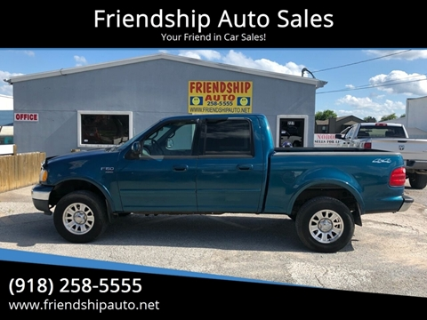 2001 Ford F-150 for sale in Broken Arrow, OK