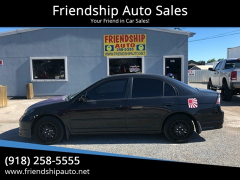 2005 Honda Civic for sale in Broken Arrow, OK