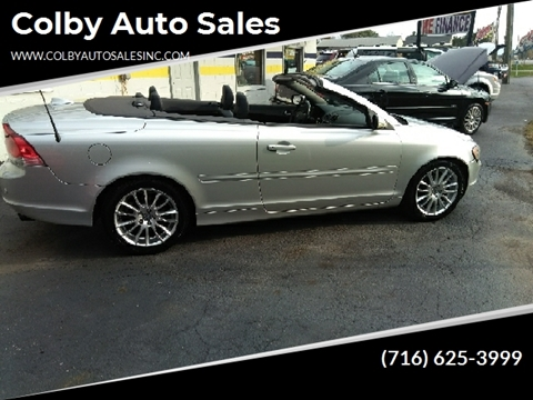 Volvo C70 Convertible >> 2007 Volvo C70 For Sale In Lockport Ny