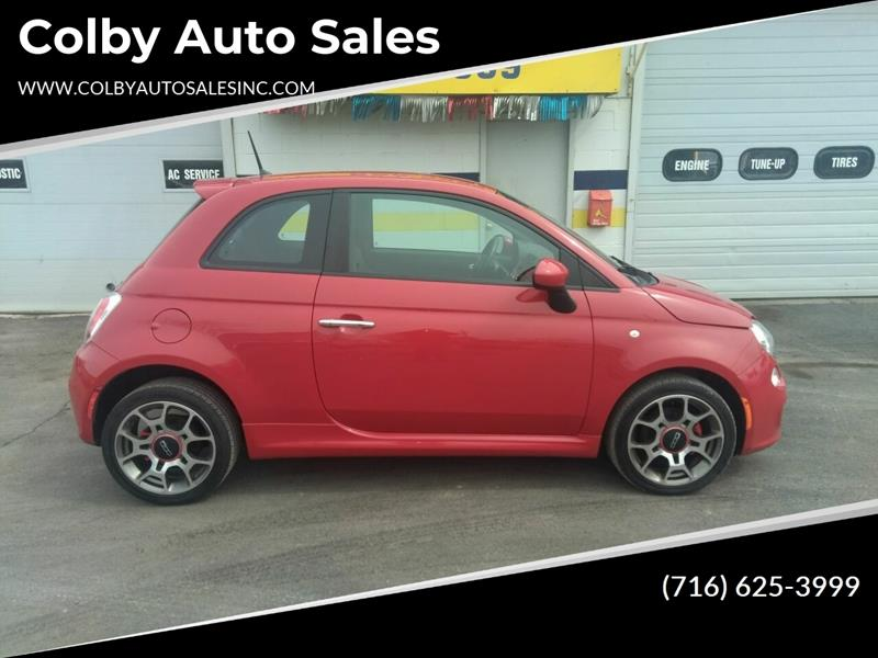 2012 Fiat 500 Sport 2dr Hatchback In Lockport NY - Colby