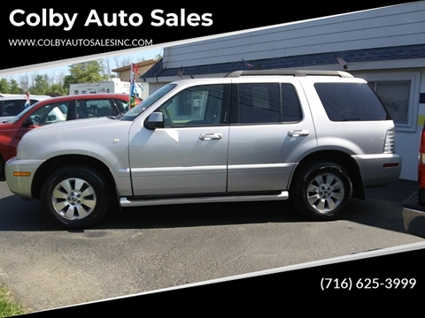 2006 Mercury Mountaineer for sale in Lockport, NY