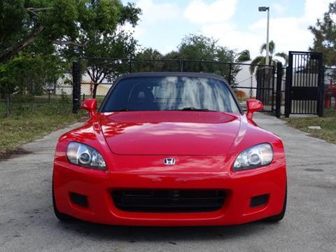2003 Honda S2000 for sale in Pompano Beach, FL