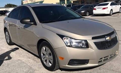 2012 Chevrolet Cruze for sale in Pompano Beach, FL