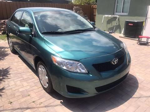 2010 Toyota Corolla for sale in Pompano Beach, FL