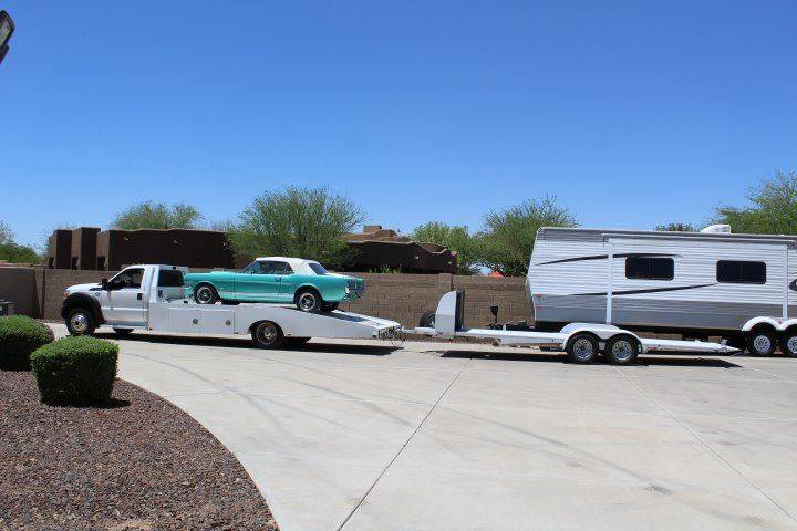 2015 Ford F-550 for sale at CLASSIC SPORTS & TRUCKS in Peoria AZ