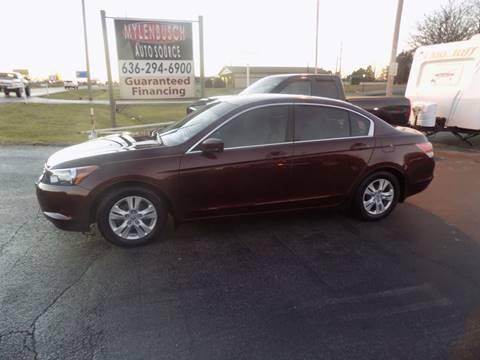 2009 Honda Accord for sale in O` Fallon, MO