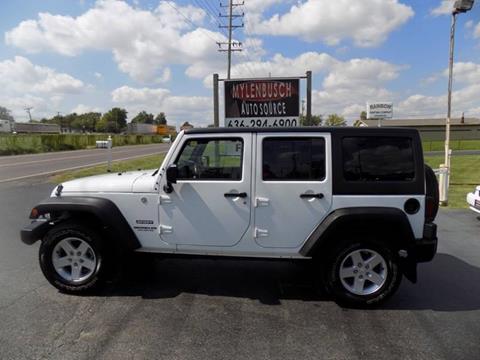 2015 Jeep Wrangler Unlimited for sale in O` Fallon, MO